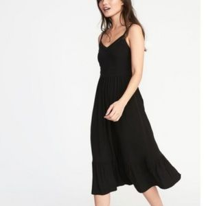 Old Navy black cami dress Tall Large